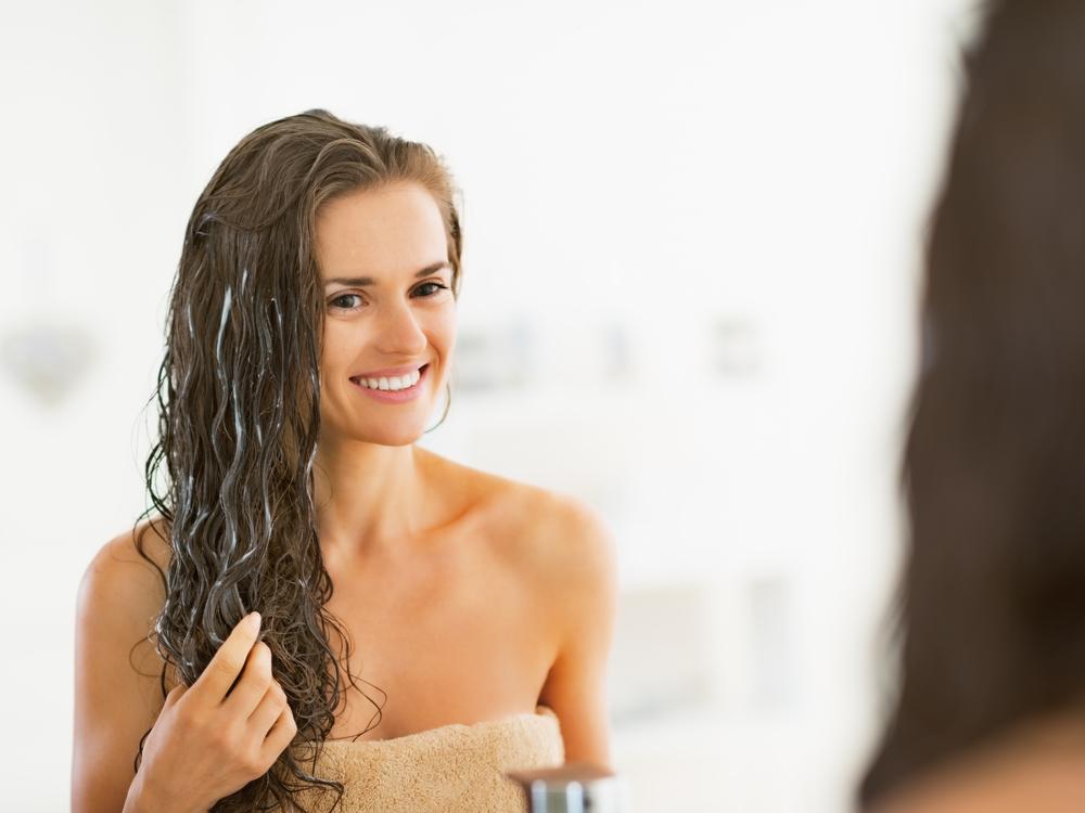 hair balm application