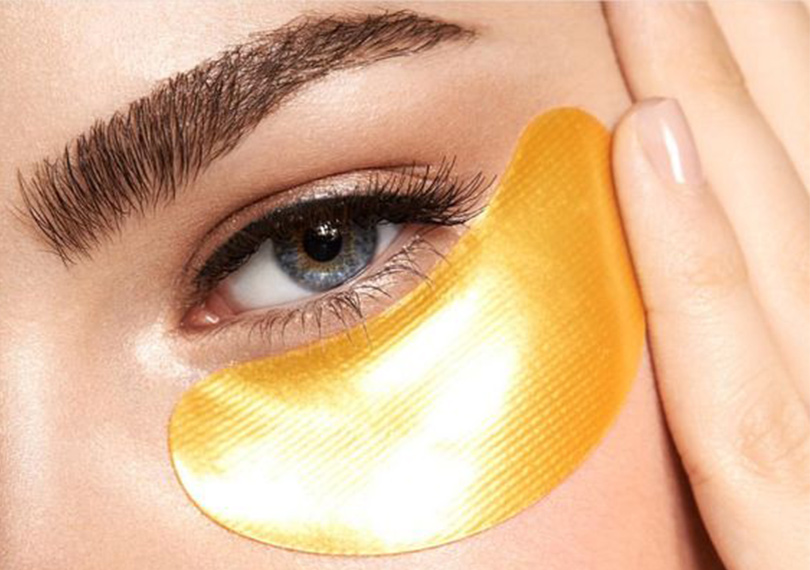 gold eye patches