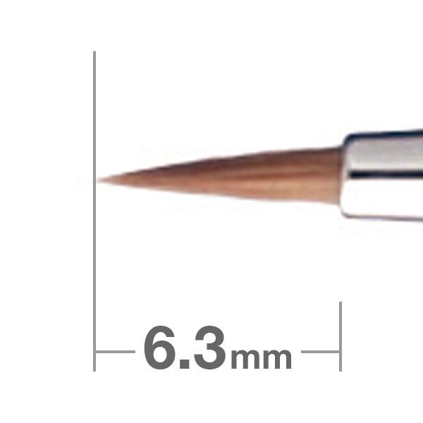 HAKUHODO Eyeliner Brush Round B007