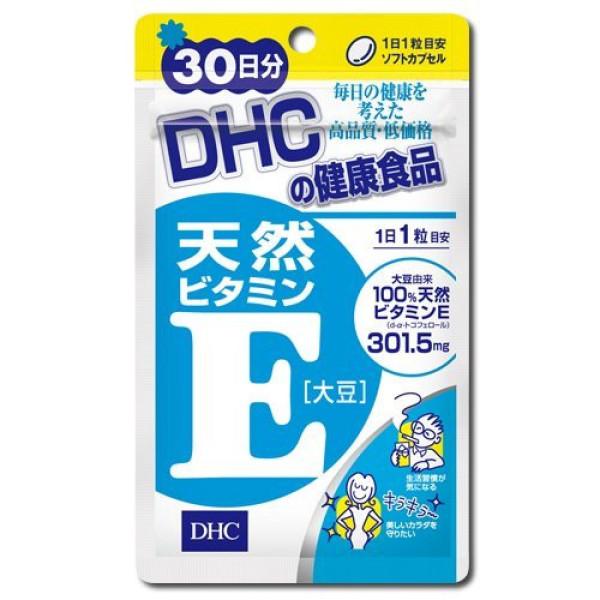 DHC Natural Vitamin E Capsule