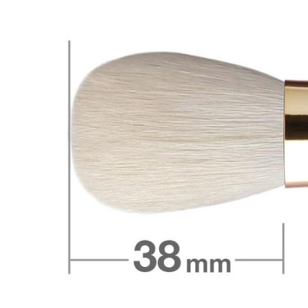 Brush for powder and blush HAKUHODO Misako Portable Powder & Blush Brush