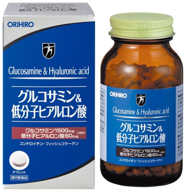 Orihiro Glucosamine & Hyaluronic Acid