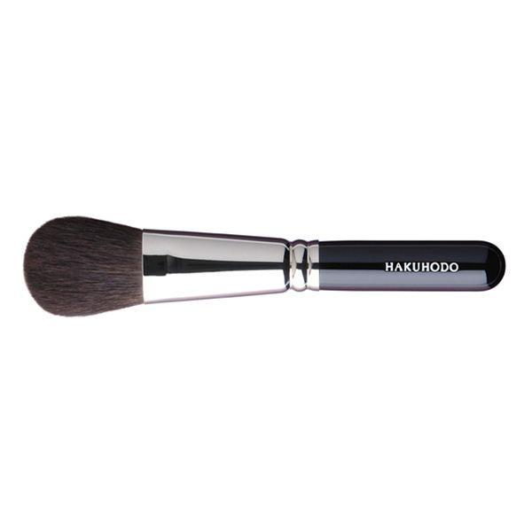 HAKUHODO Powder Brush Round & Flat B5519