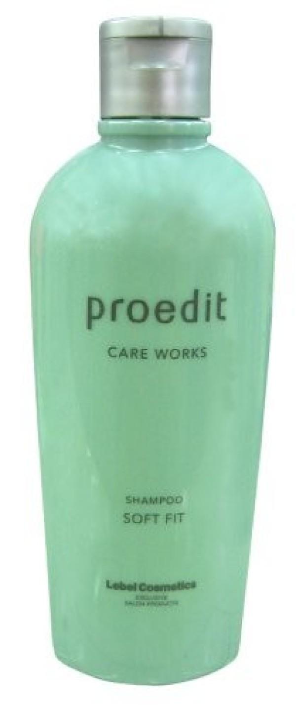 LEBEL PROEDIT CARE WORKS SHAMPOO SOFT FIT 300 ml