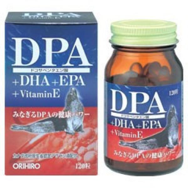 ORIHIRO Omega-3s DPA + DHA + EPA