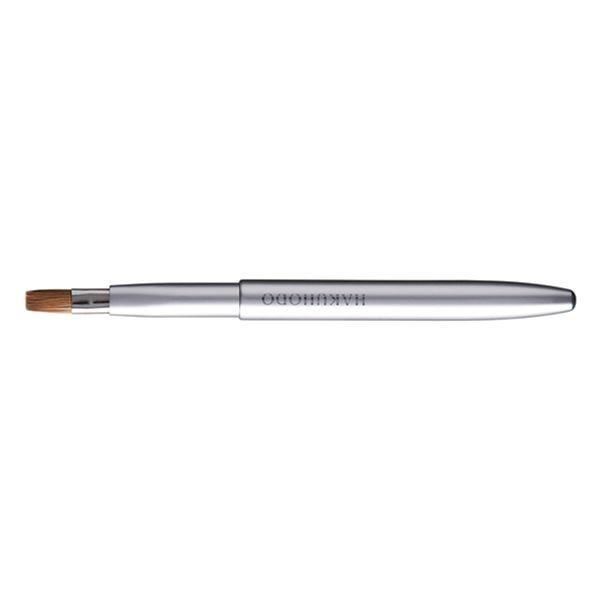 HAKUHODO Retractable Push-up Lip Brush SmA Flat