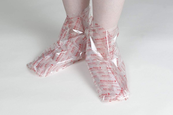 Cosme Baby Foot Exfoliating Socks (Size L)