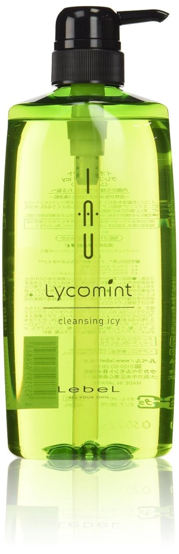 Lebel IAU Lycomint Cleansing Icy Shampoo 600 ml