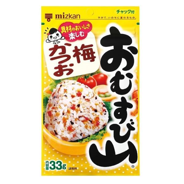 Natural seasoning for rice Omusubiyama with Japanese plum