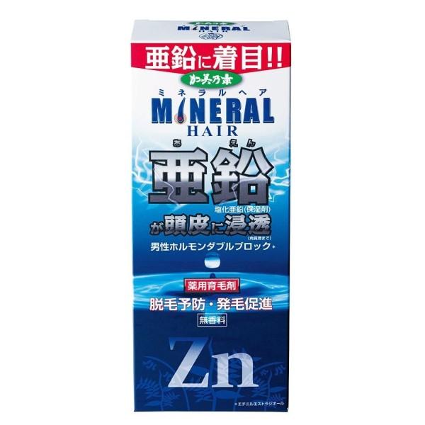 KAMINOMOTO Mineral Hair Tonic Zn