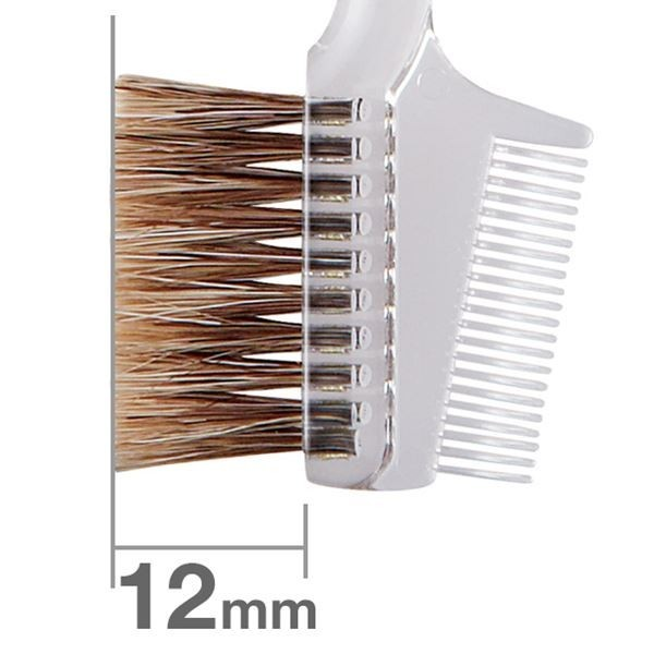 HAKUHODO Brow Comb Brush Transparent S195
