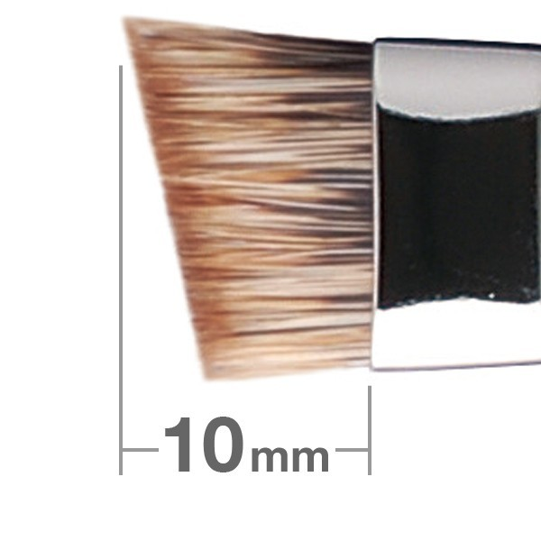 HAKUHODO Eyebrow Brush L Angled G524