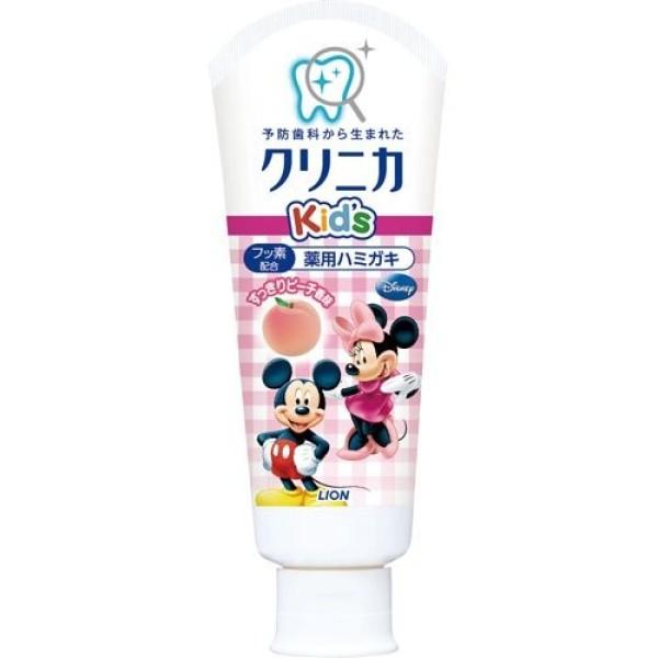 Lion CLINICA Kid's Toothpaste (Peach)
