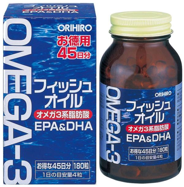 Orihiro Omega-3 DHA + EPA for 45 days
