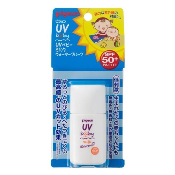 Pigeon UV Baby Milk Waterproof SPF 50 + PA + + + 20 g