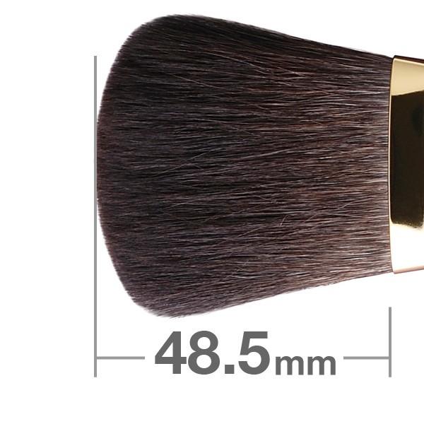 HAKUHODOD Finishing Brush Round & Flat S102Bk