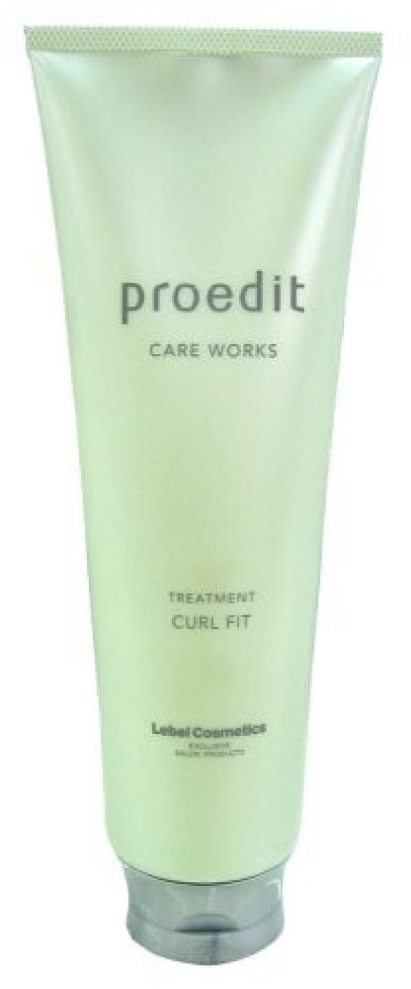 LEBEL PROEDIT CARE WORKS TREATMENT CURL FIT Mask 250 ml