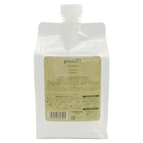 LEBEL PROEDIT CARE WORKS TREATMENT CURL FIT for curly hair 1000 ml