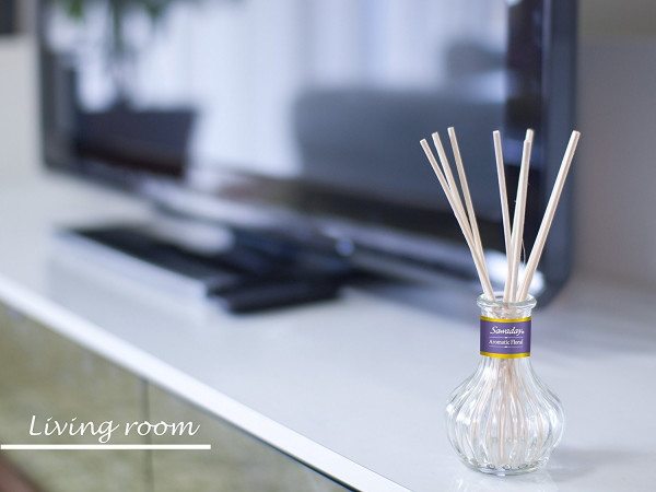 Natural aroma diffuser for home Sawaday stick Aromatic Floral