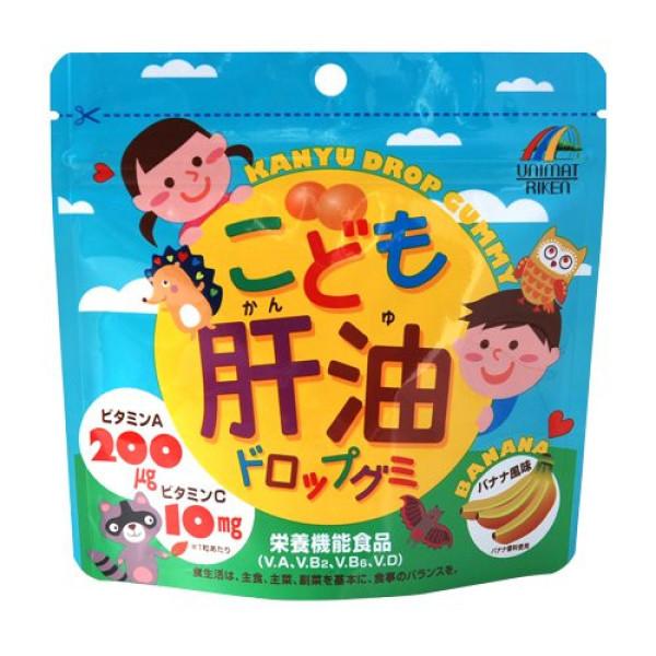 Unimat Riken Kanyu Drop Gummy (Banana Flavor)