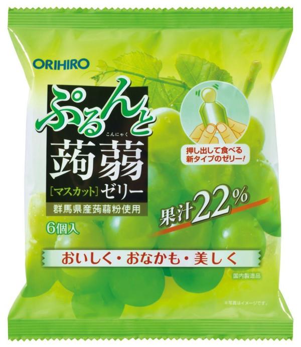 Orihiro Konyaku Fruit Jelly