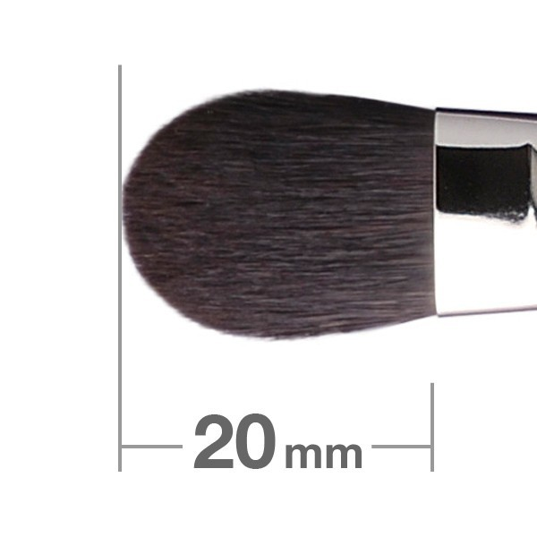 HAKUHODO Eye Shadow Brush Round & Flat B021