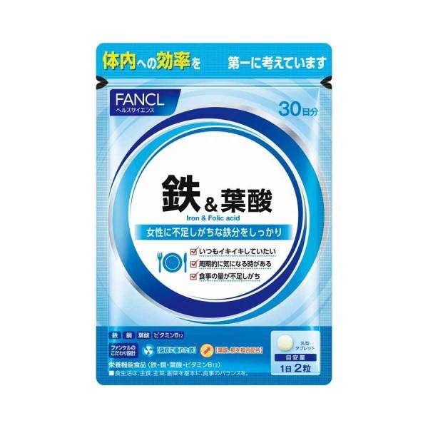 FANCL Iron + Mineral Complex