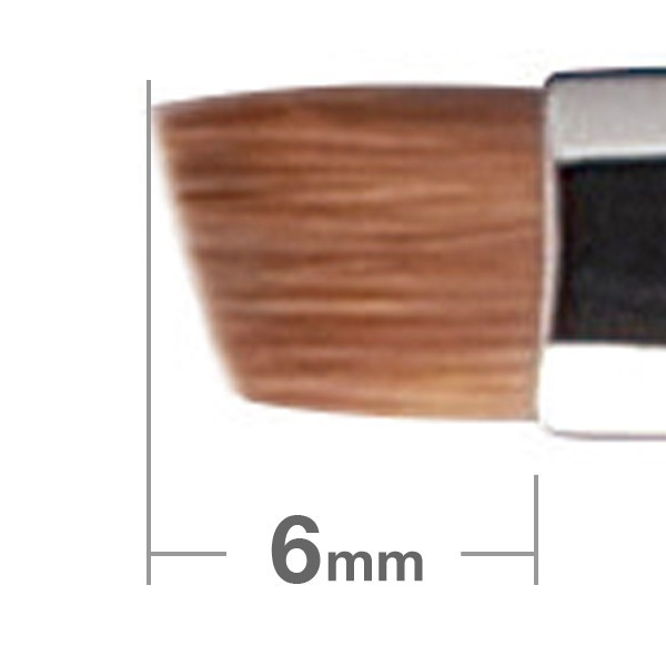 HAKUHODO Eyebrow Brush Angled B162
