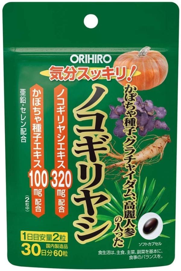 Orihiro Palmetto for Men's Health