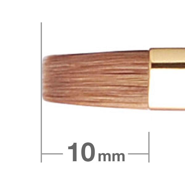 HAKUHODO Lip Brush Flat S172Bk