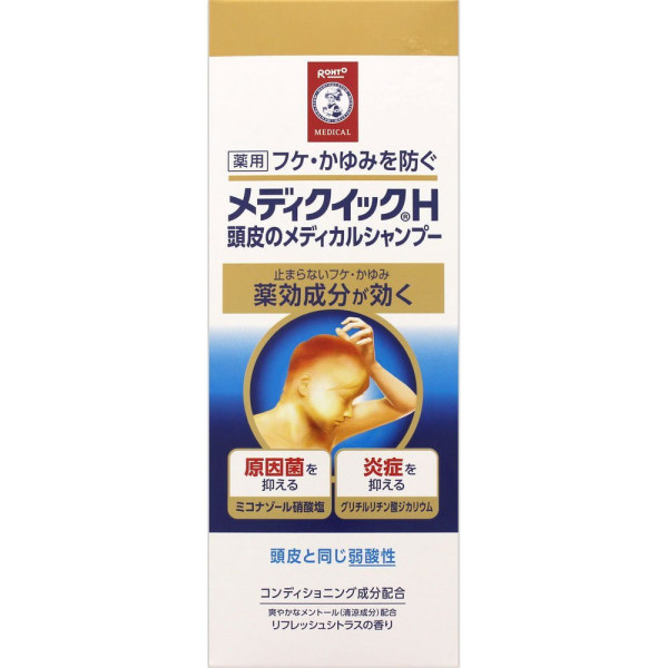 Rohto Mediquick H scalp medical shampoo