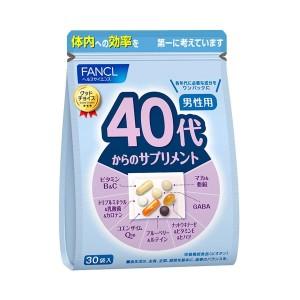 FANCL Good Choice 40's Men Health Supplement