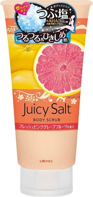Utena Juicy Salt Body Scrub Pink Grapefruit