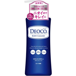 Rohto DEOCO Medicated Body Cleanse Shower Gel