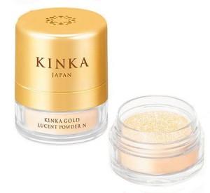 Kinka Gold Lucent Powder N powder with nano-particles