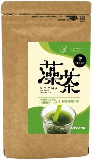 Yaeyama Tea Mocha Chlorella