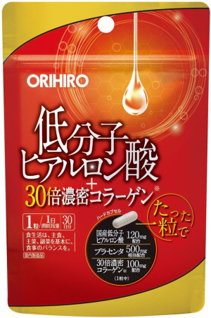 Orihiro Hyaluronic Acid & Collagen low molecular weight