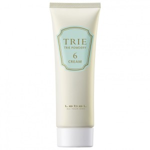Hair styling cream with a matte effect Lebel TRIE POWDER CREAM 6
