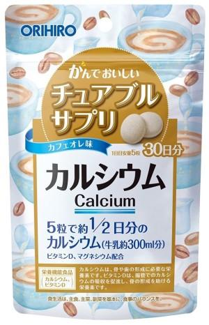 ORIHIRO CALCIUM (Coffee-Milk Flavor)