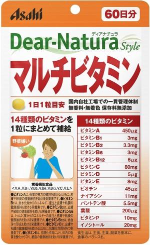 Asahi Dear-Natura Style Multivitamin