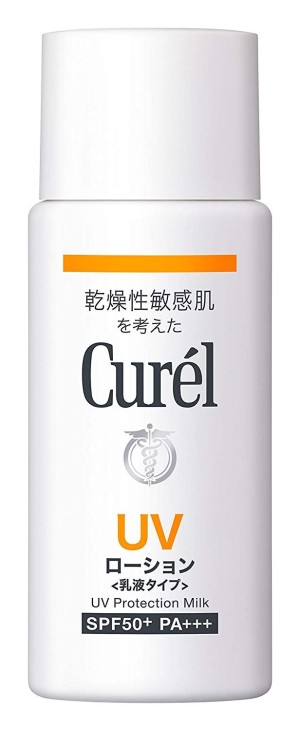 Kao Curel UV Protection Milk SPF 50 PA + + +