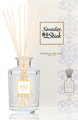 Natural fragrance for home Sawaday Black stick Parfum Blanc