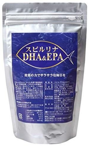 Spirulina Omega-3 (DHA & EPA)