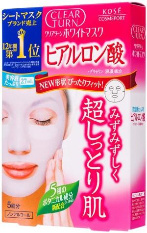 Kose Clear Turn White Hyaluronic Acid Mask