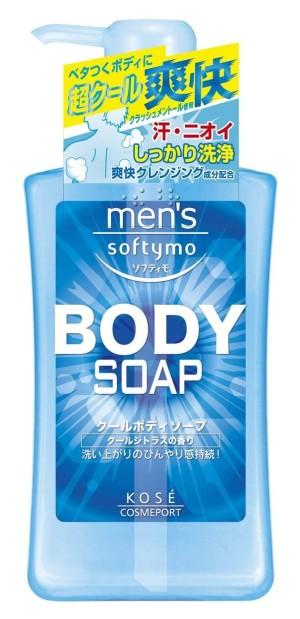 Kose Cosmeport Men's Softymo Cool Body Soap