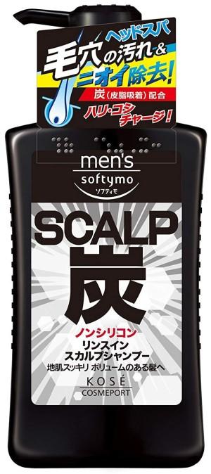 Kose Men's Softymo Scalp Shampoo Charcoal