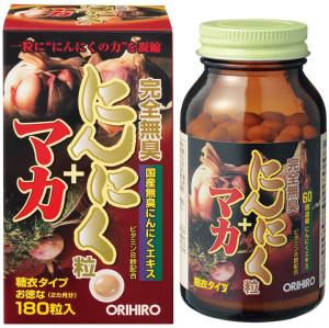 Extract of poppies and garlic Orihiro