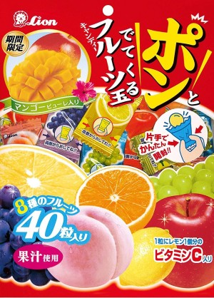 LION Fruit Ball Candy