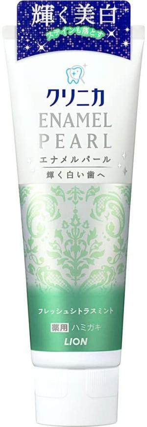Lion Clinica Enamel Pearl Toothpaste (Citrus & Mint)