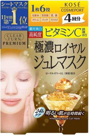 Kose Clear Turn Premium Royal Jelly & Vitamin C Mask